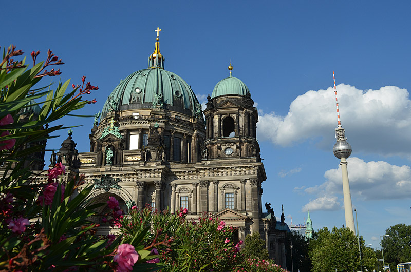 Berliner Dom with TV tower