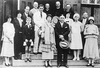 Mencken wedding photo