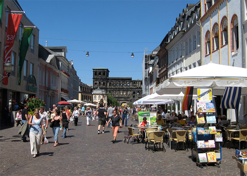 Trier main street