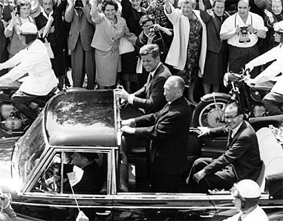 Adenauer and Kennedy