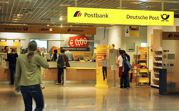 Frankfurt Airport post office