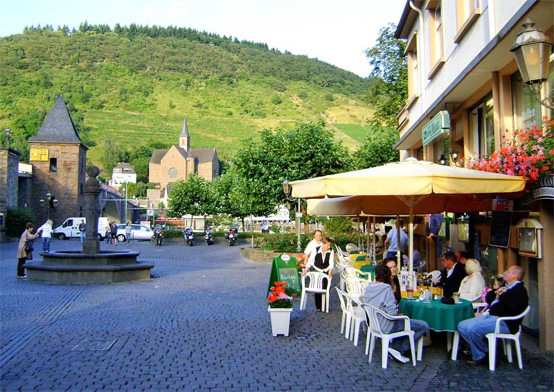 A Restaurant in Cochem