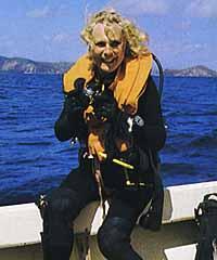 Riefenstahl scuba diving