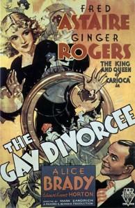 Gay Divorcee movie poster
