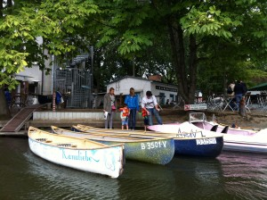 Boats at Treptow