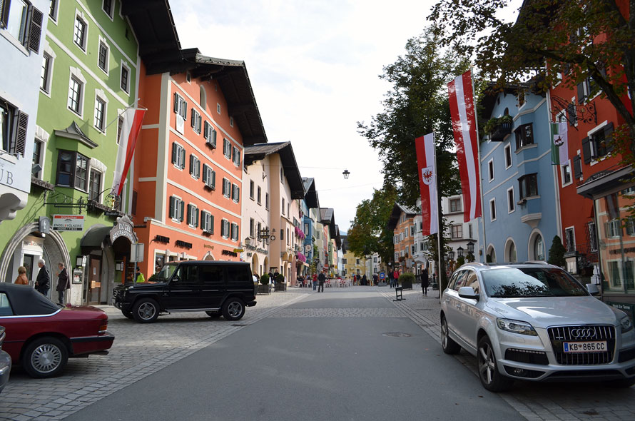 Austria - Kitzbuehel street
