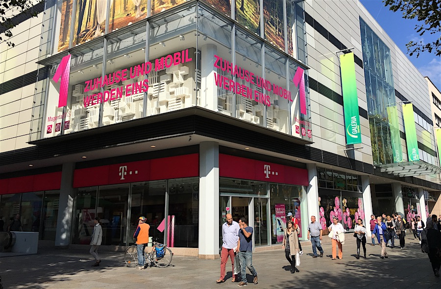 A T-Mobile store in Germany