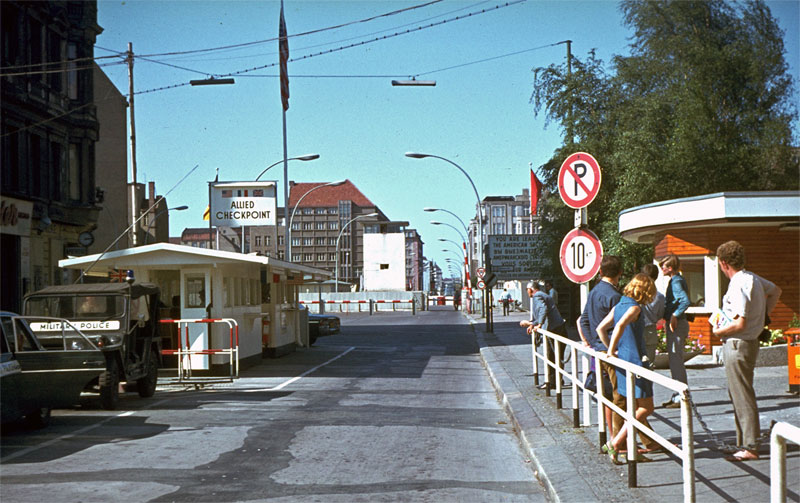 Berlin Checkpoint Charlie 1969