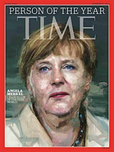 Merkel - Time magazine cover
