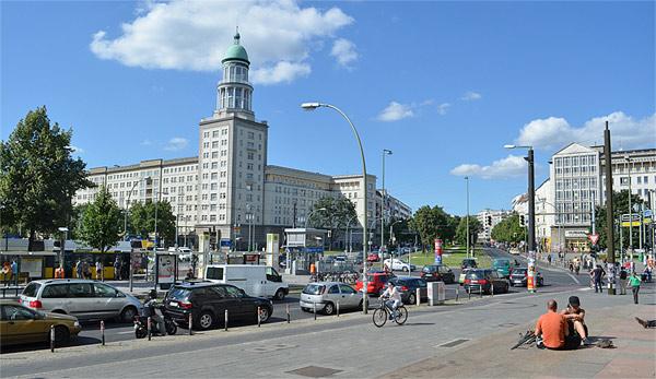 Traffic Warschauerstr Berlin