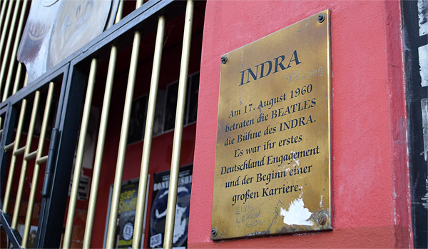 Indra Beatles Plaque
