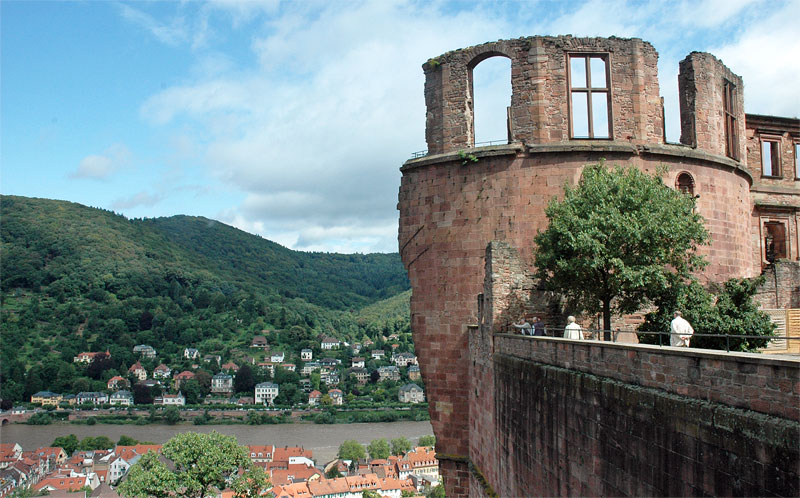 Schloss Heidelberg tower