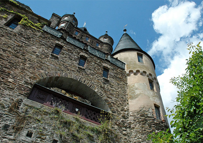 Cochem Castle tower