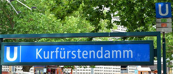 Kurfuerstendamm U-Bahn