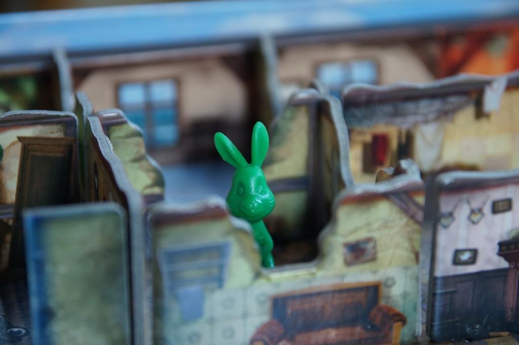 """""""Grüne Hase, du kannst jetzt durch!"""""""