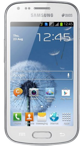 The Samsung Galaxy S Duos Gt S7562 Gsm Mobile Phone Lets You Use Two Sim Cards In One Device Photo