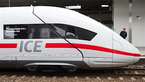 Presentation of the new ICE 4 train