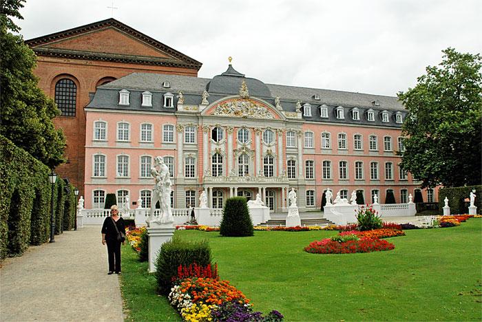 Palace garden Trier
