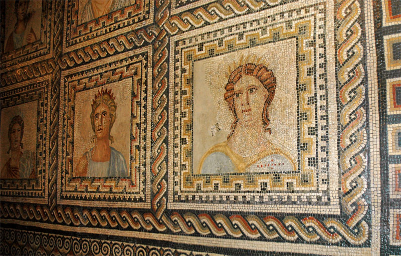 Roman mosaic Trier