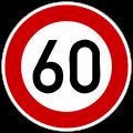 Autobahn sign 1