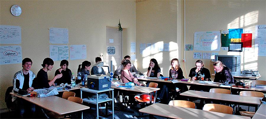 Berlin classroom