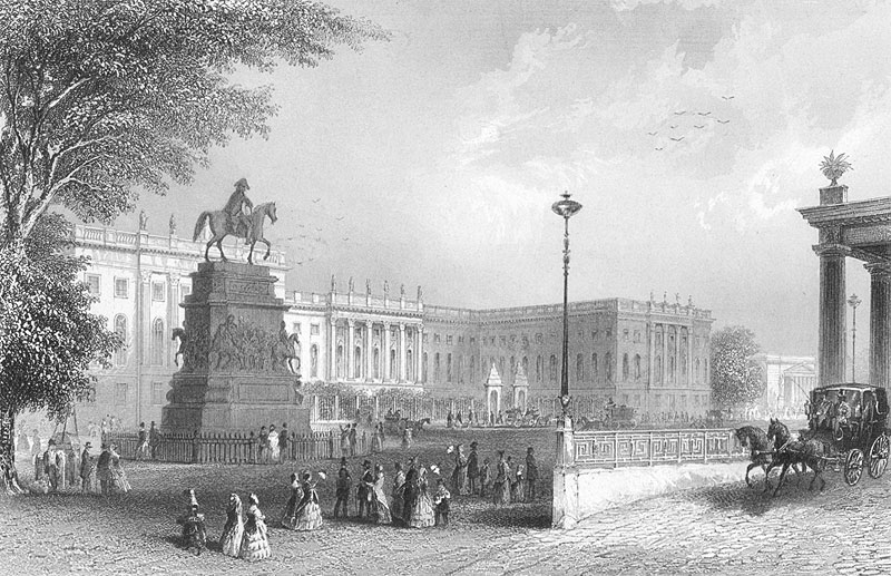 Humboldt University in 1850