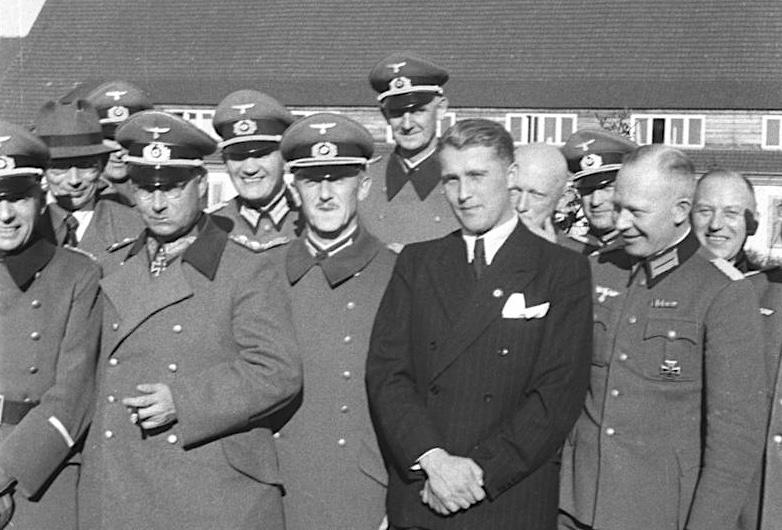 W. von Braun at Peenemünde
