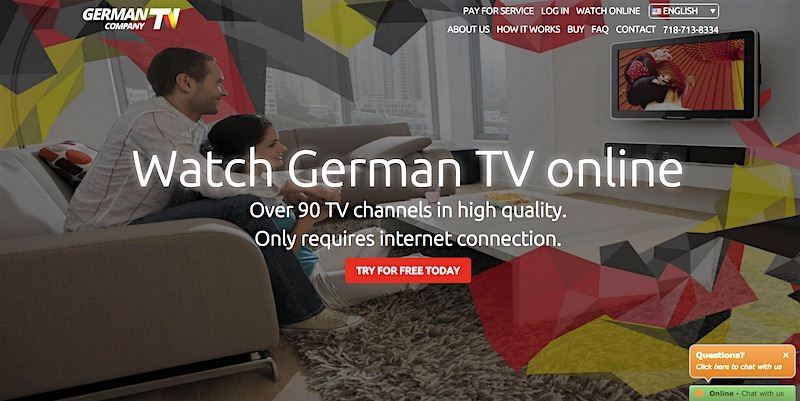 German TV Options for North Americans - The German Way & More