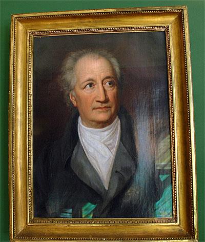 goethe portrait - Wolfgang Schuble Lebenslauf