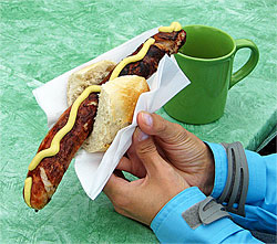 Dining etiquette in germany the german way more there are a few things you are allowed to eat with your hands wrstchen the german version of a hotdog is one photo hyde flippo m4hsunfo