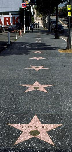 LA stars Billy Wilder