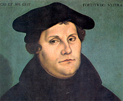 Martin Luther painting