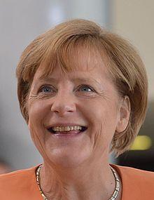 Angela Merkel in 2015