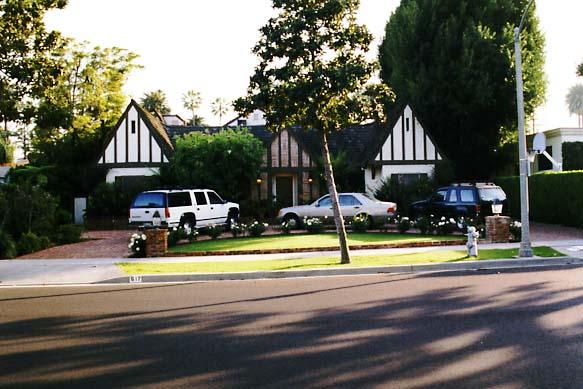 Conrad Veidt's former residence in Beverly Hills (1999)