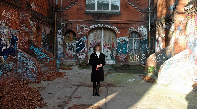 Oberschule graffiti