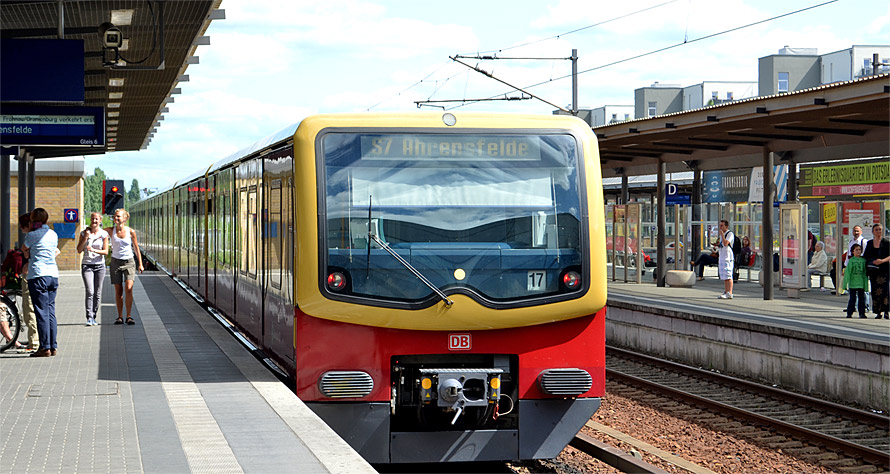 Potsdam via S-Bahn from Berlin
