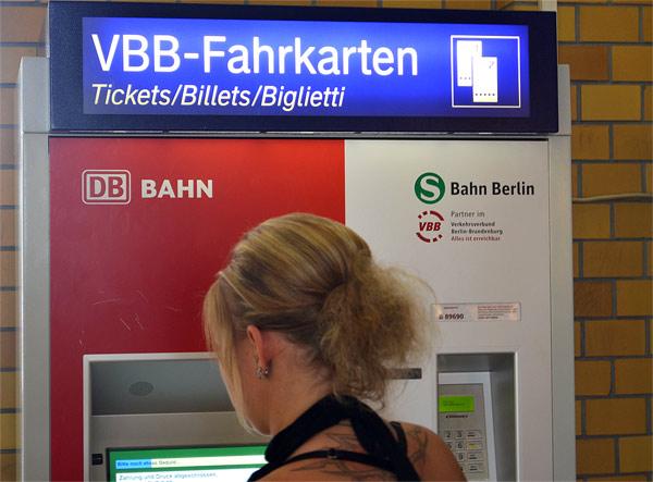 Fahrkarten VBB