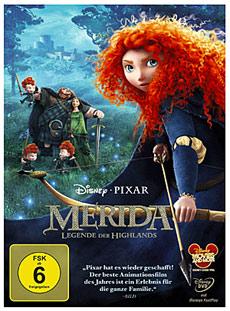 Merida - Brave Blu-ray