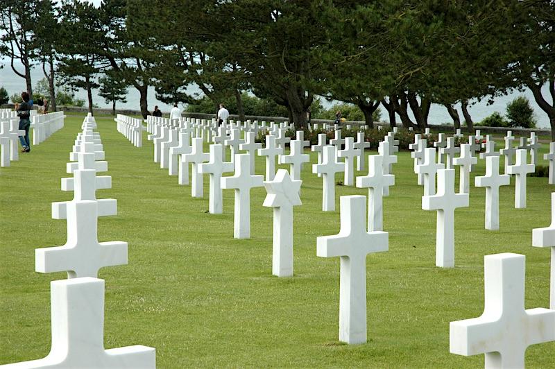 American Cemetery crosses
