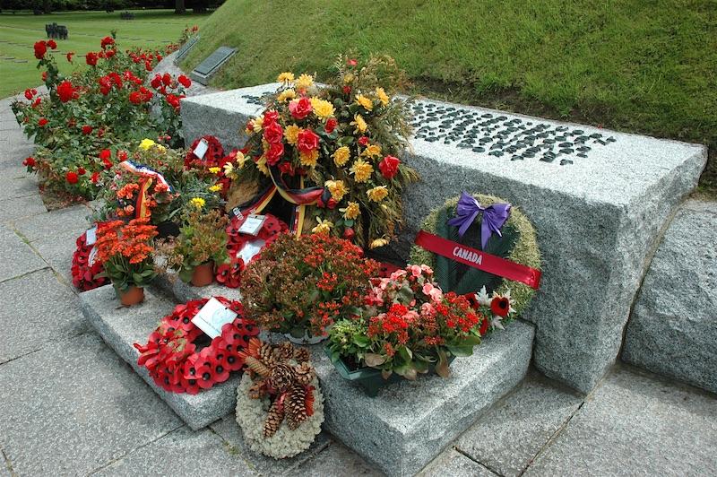 German cemetery flowers