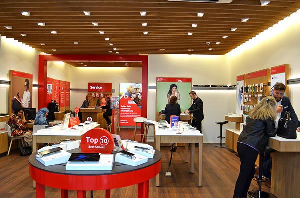 Vodafone store in Berlin