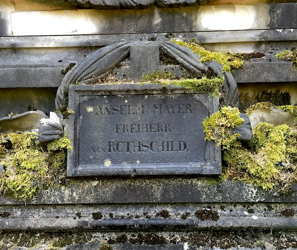 Anselm Mayer Rothschild grave