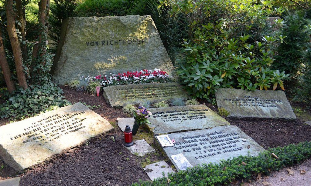 Richthofen's grave