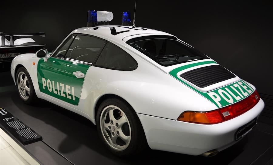 Porsche police cruiser