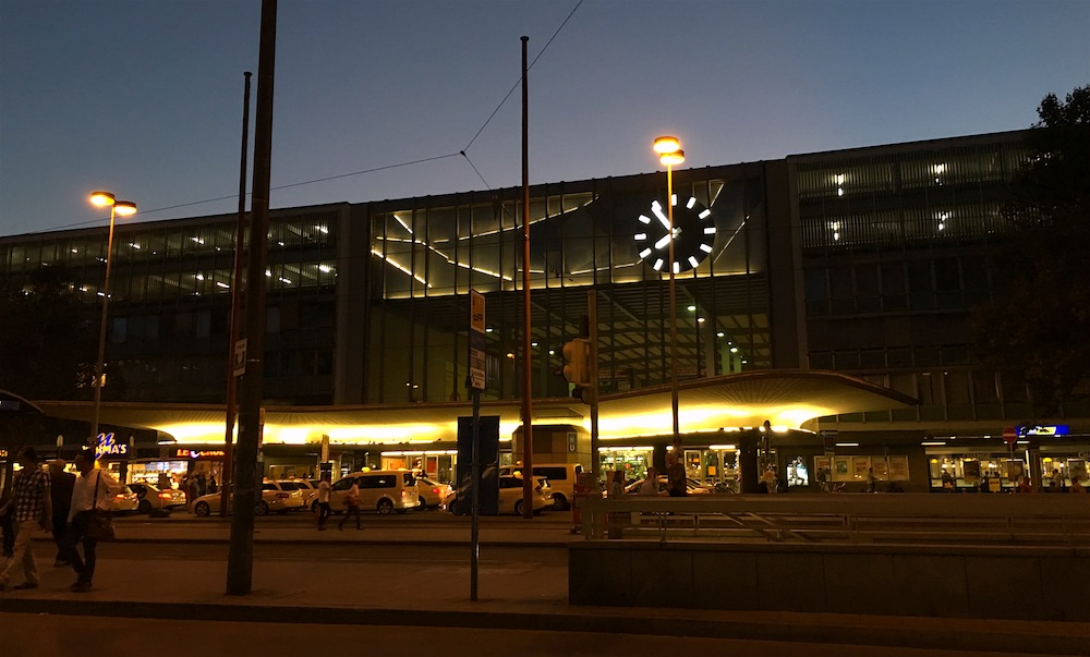 Munich's main railway station