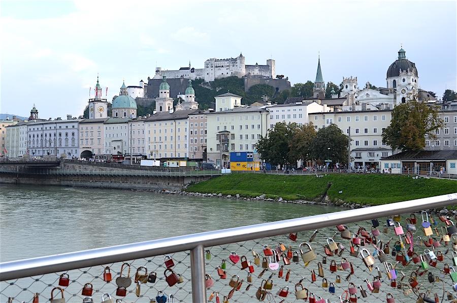 Salzburg - Padlock bridge