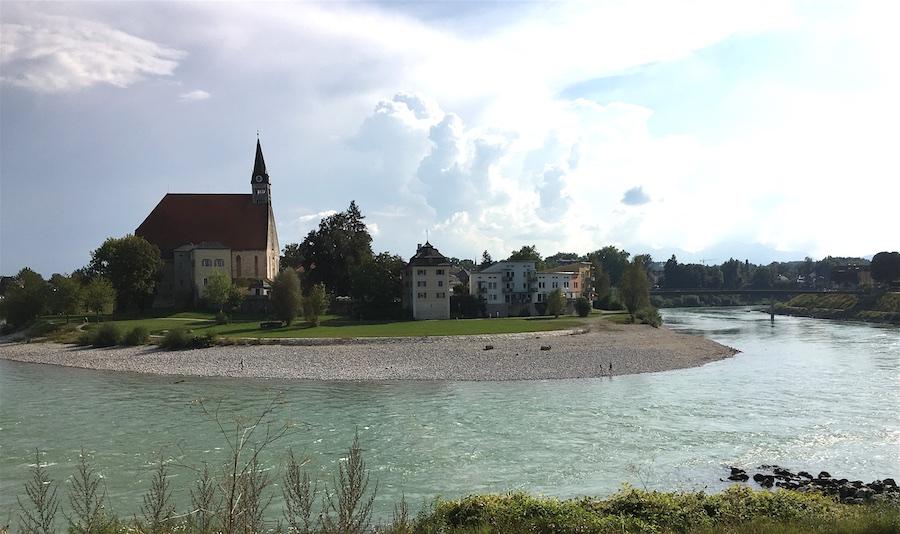 Salzach River, Oberndorf