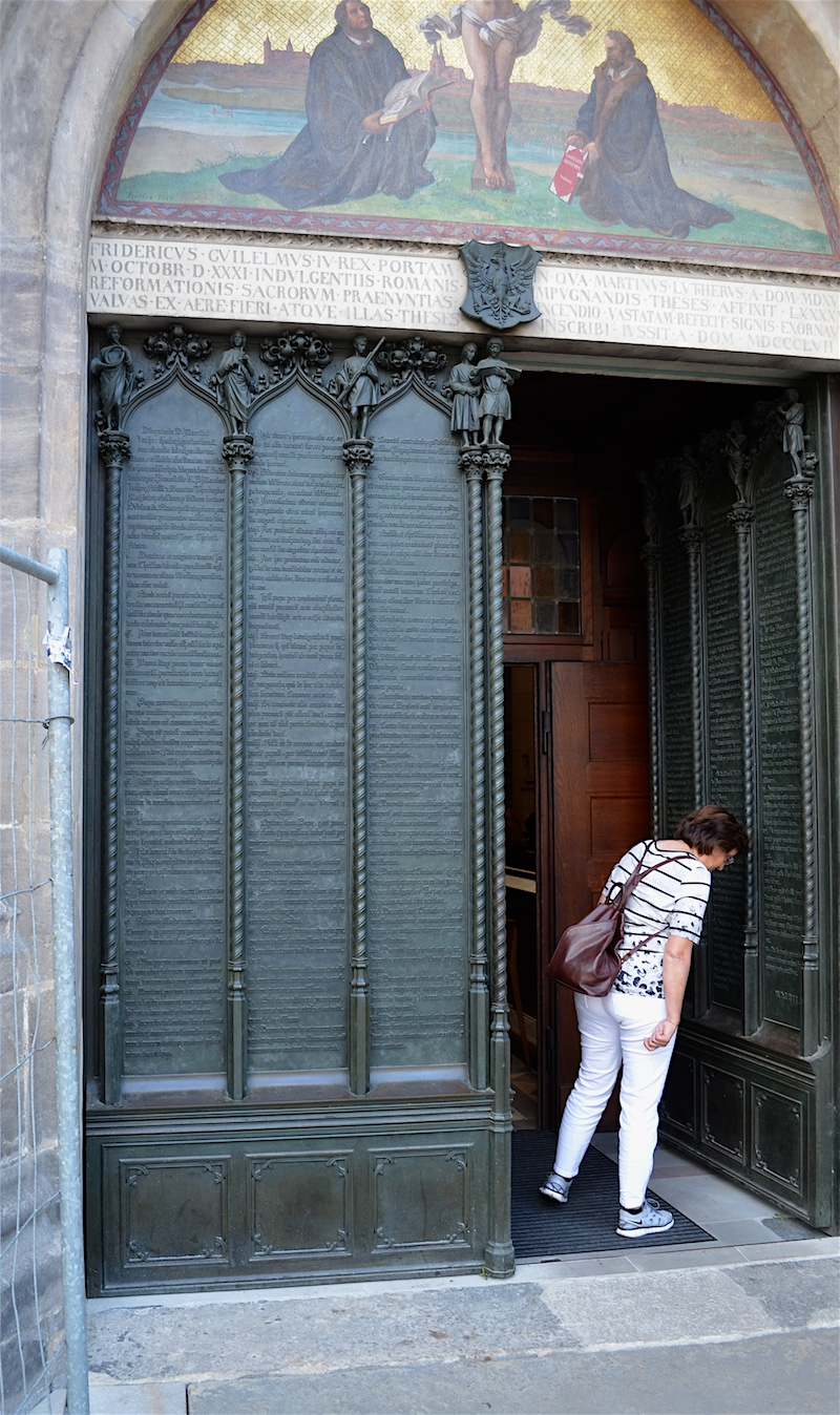 Church doors - Luther & Martin Luther | The German Way \u0026 More