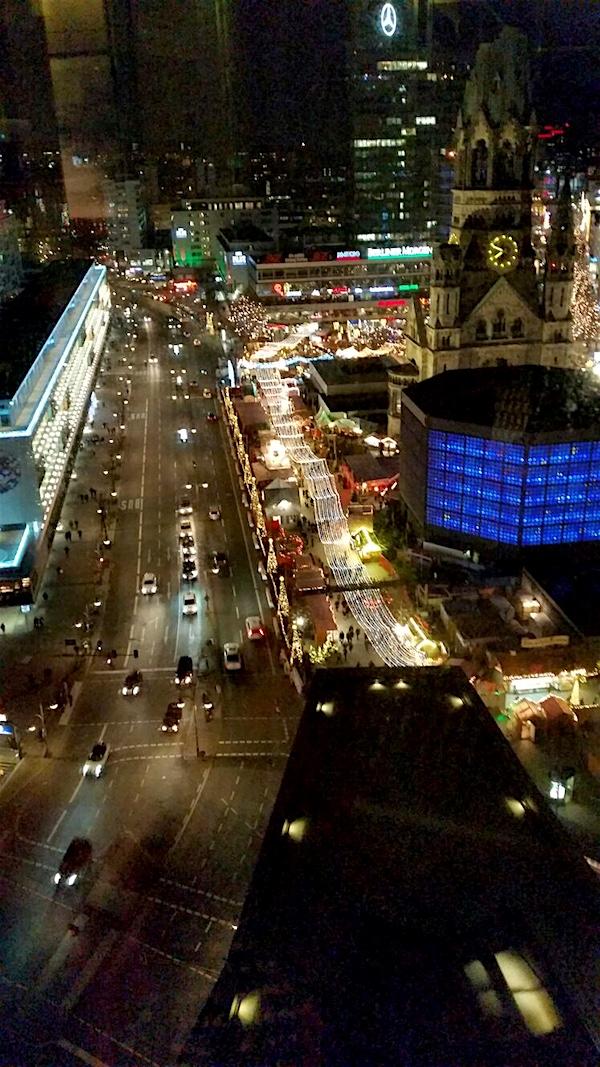 Breitscheidplatz aerial view