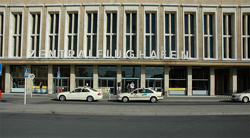 Tempelhof entrance